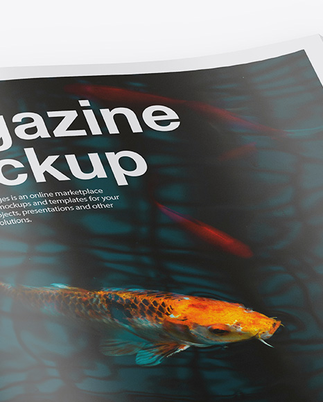 Download Magazine Cover Psd Mockup Free Download Yellowimages