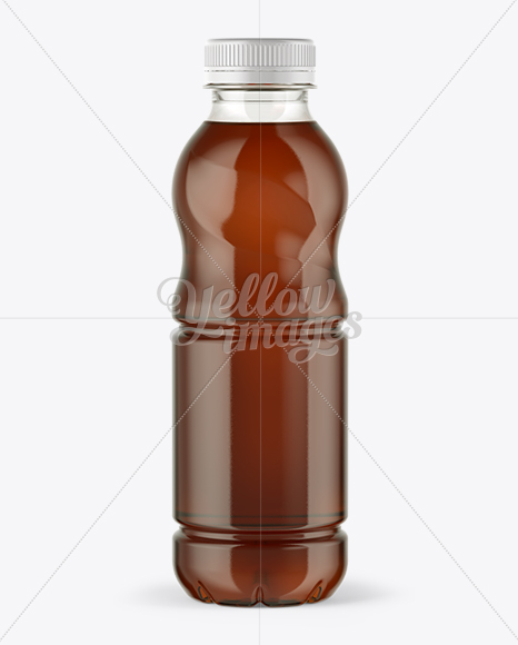 Download Plastic Bottle Tea Mockup Yellow Images