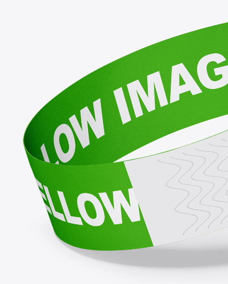 Download Paper Wristband Mockup Yellowimages