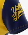 Download Men's Rugby Kit with V-Neck Jersey Mockup - Halfside View ...