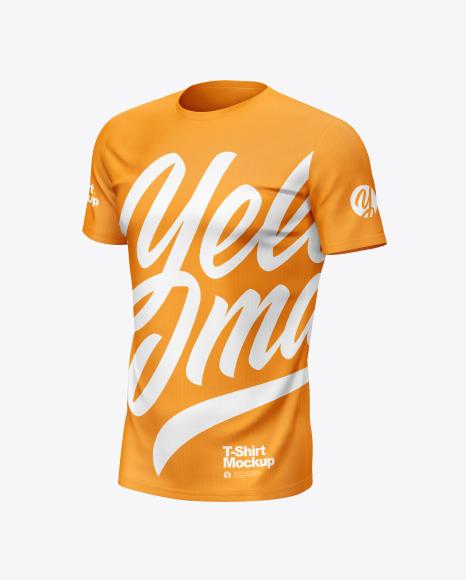 Download Mens T-Shirt Jersey Mockup PSD File 50.67 MB