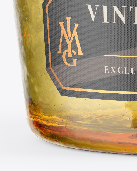 Download Yellow Antique Bottle Psd Mockup Yellowimages