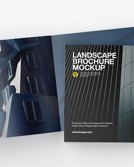 Download Landscape Brochure Mockup Free Psd Yellowimages