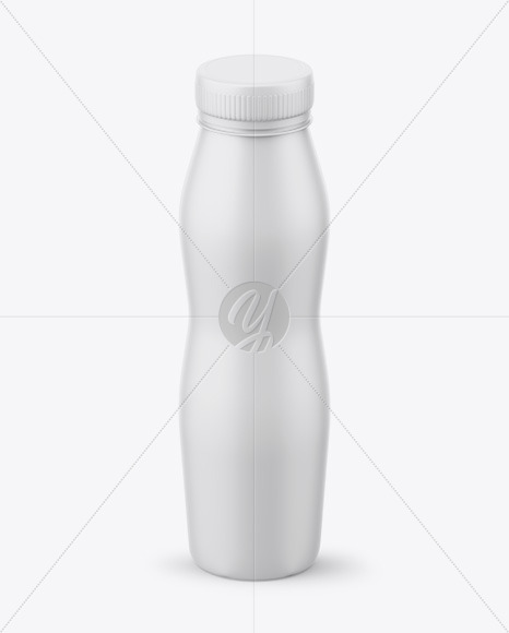 Download Matte Plastic Bottle Psd Mockup Front View High Angle Shot Yellowimages