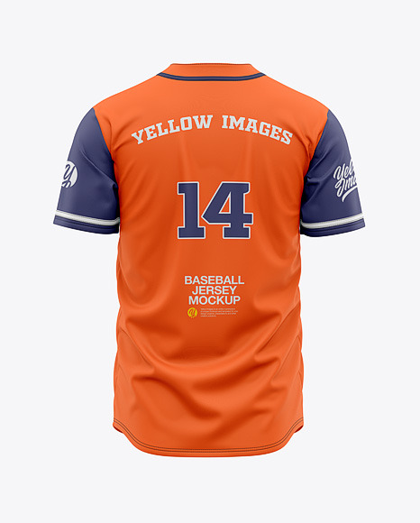 Download Baseball Jersey Mockup Free Yellowimages