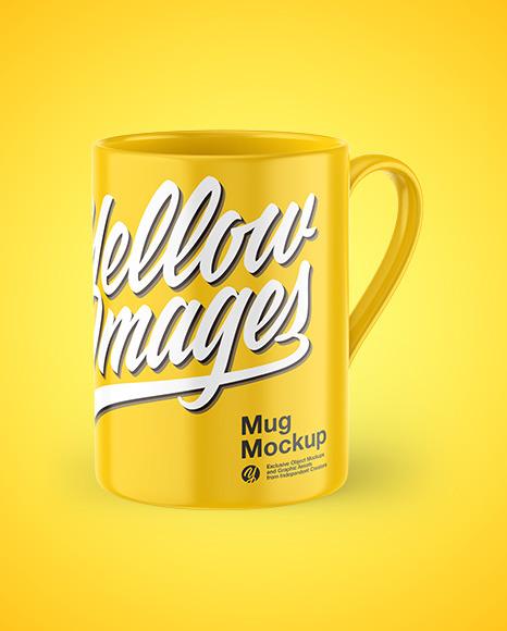 Download Transparent Glass Mug Psd Mockup Yellowimages