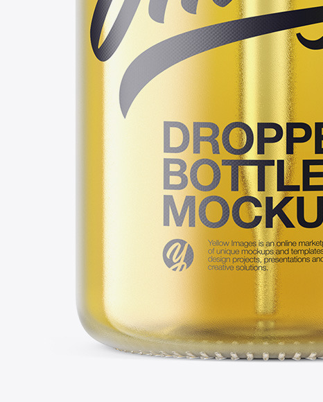 Download 15ml Clear Glass Dropper Bottle Psd Mockup Yellowimages