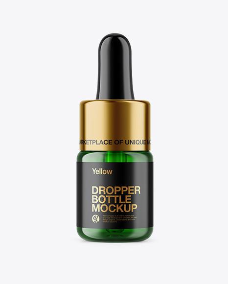 Download 15ml Green Glass Dropper Bottle Kraft Box Yellowimages