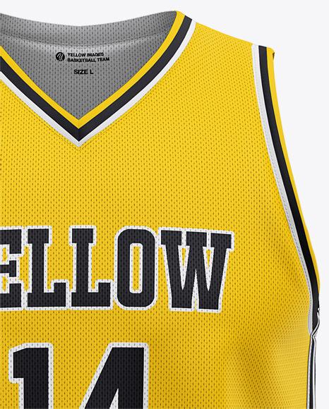 Download Basketball Kit Mockup Psd Free Yellow Images