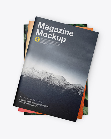 Download Mockup Magazine Cover Psd Yellowimages