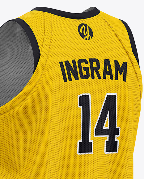 Download Basketball Kit Mockup Yellow Images