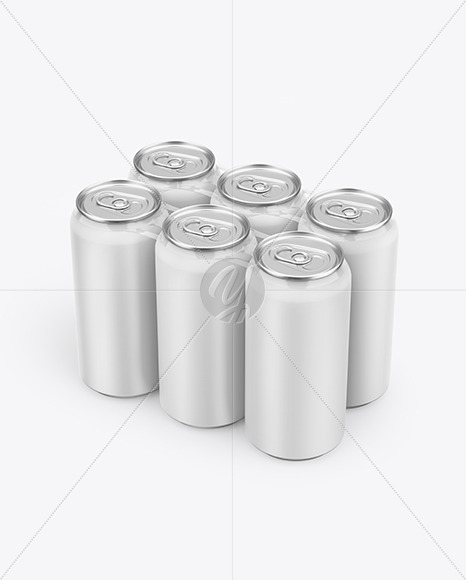 Download Glossy Cans Psd Mockup Yellow Images