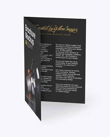 Download Free Psd Mockup Brochure Yellowimages