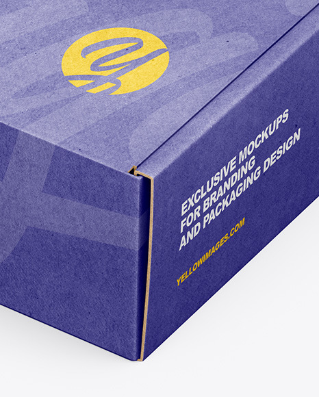 Download Matte Parcel Psd Mockup Yellowimages