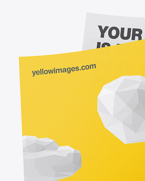 Download Logo Corporate Identity Mockup Yellowimages
