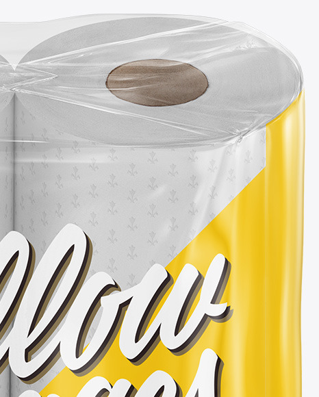 Download Paper 4 Pack Cans Psd Mockup Yellow Images