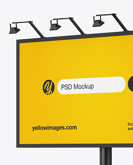 Download Poster Outdoor Mockup Free Download Yellowimages