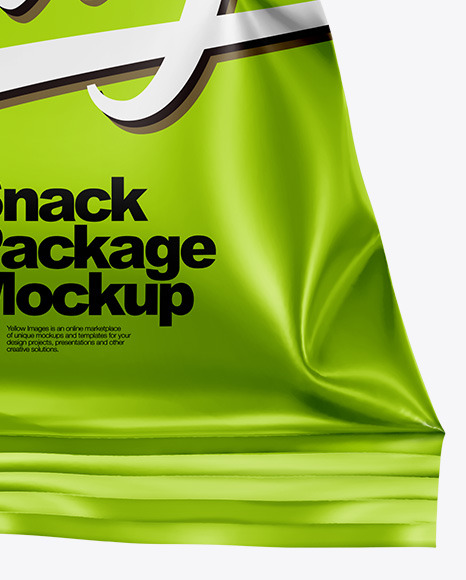 Download Bag With Potato Chips Psd Mockup Yellowimages