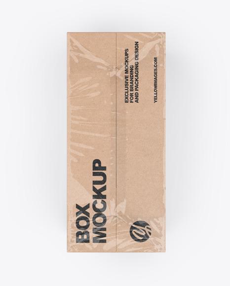Download Cardboard Box Mockup Yellowimages