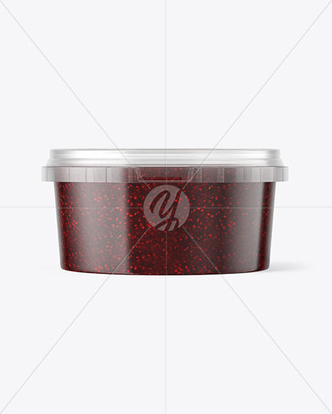 Download Transparent Plastic Container Mockup Yellow Images