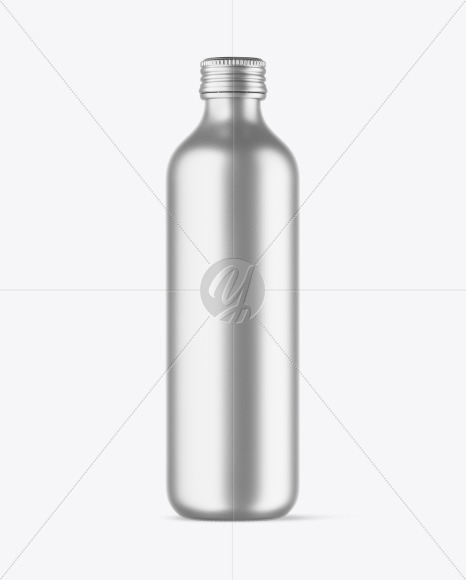 Download 100ml Blue Glass Water Bottle Mockup Yellowimages