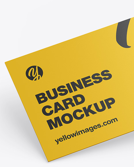 Download Mockups Cards Yellow Images