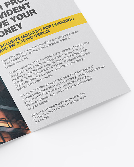 Download Mockup Flyer Psd Yellowimages