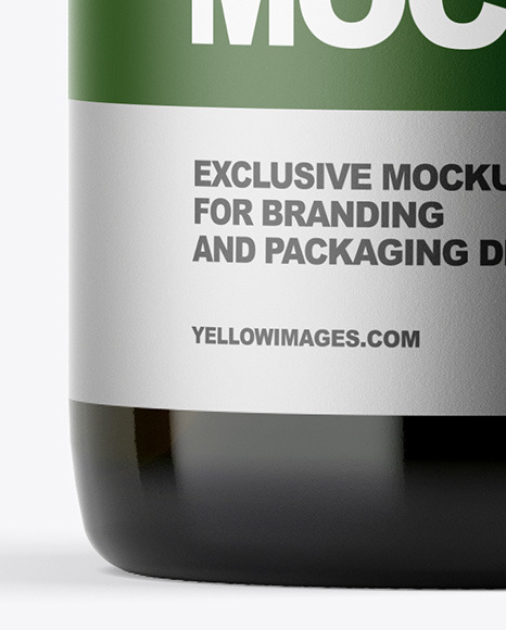 Download Green Bottle Carrier Psd Mockup Yellowimages