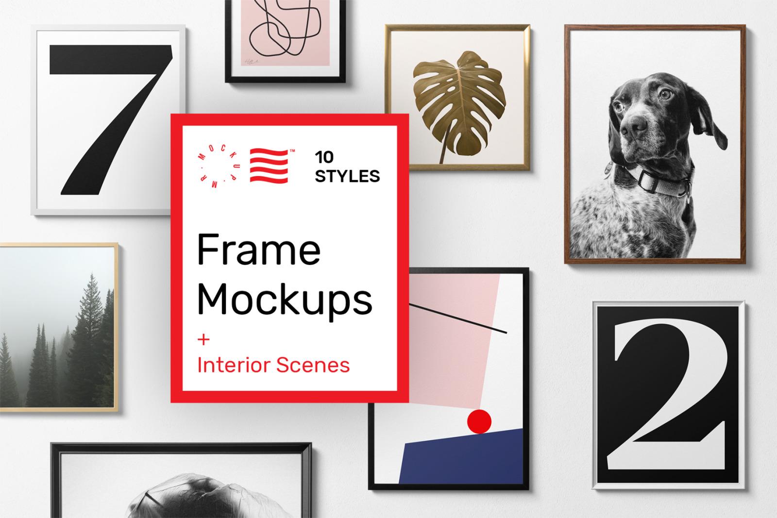 poster frame mockups generator in