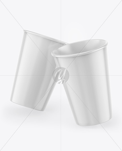 Download Glossy Pouch Coffee Cup Psd Mockup Yellow Images
