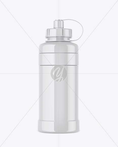 Download Reusable Bottle Mockup Yellow Images
