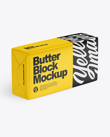 Download Free Mockup Ice Cream Packaging Yellow Images