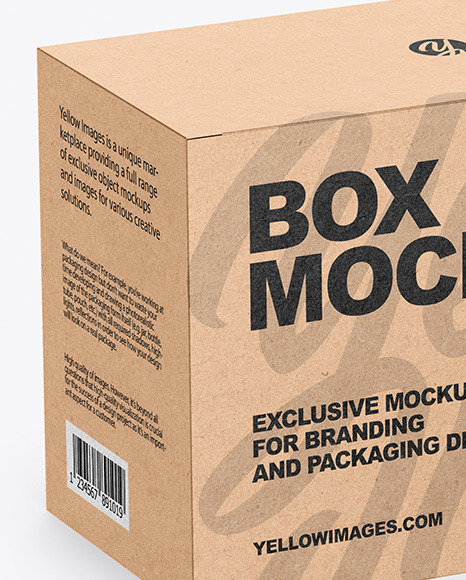Download Long Box Mockup Free Yellowimages