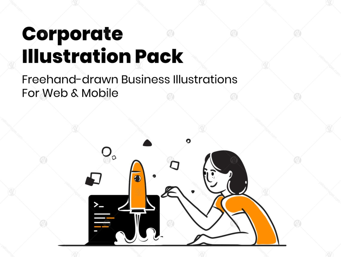 Download App Mockup Illustrator Yellowimages
