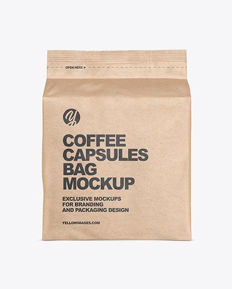 Download Paper Bag Packaging Mockup Yellow Images