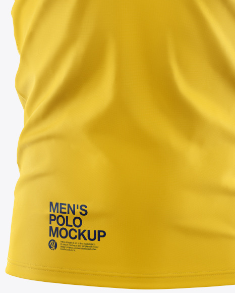 Download Free Mockup Psd Polo Yellow Images