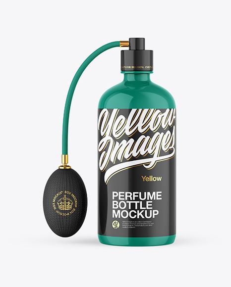 Download Mockup Parfum Yellowimages