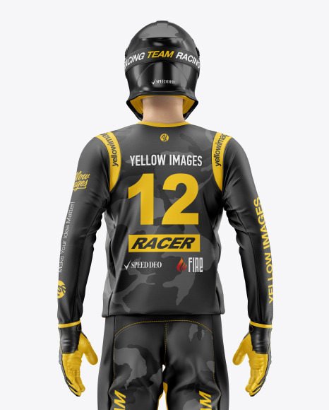 Download Motocross Jersey Mockup Psd Free