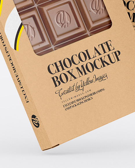 Download Chocolate Box Mockup Free Download Yellowimages