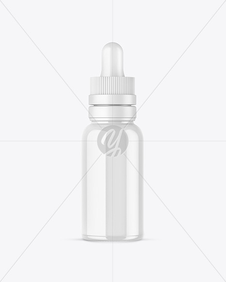Download 100ml Clear Glass Dropper Bottle Psd Mockup Yellowimages