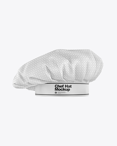 Chef Hat Mockup In Apparel Mockups On Yellow Images Object Mockups