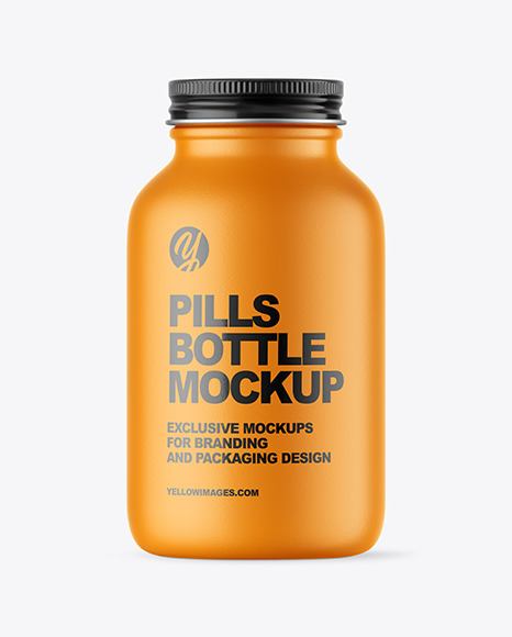 Download Pill Bottle And Box Mockup Yellowimages