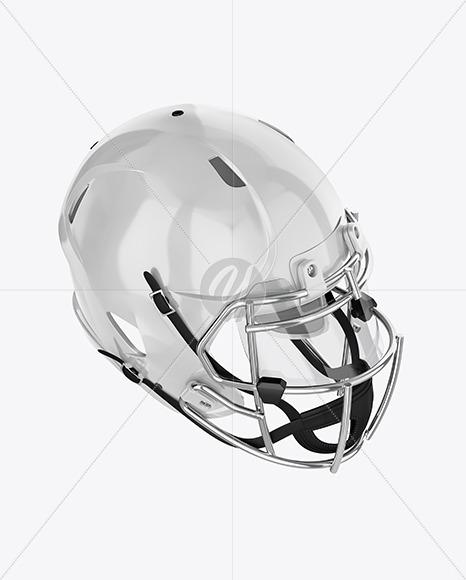 Download American Football Helmet Mockup Halfside View Yellow Images