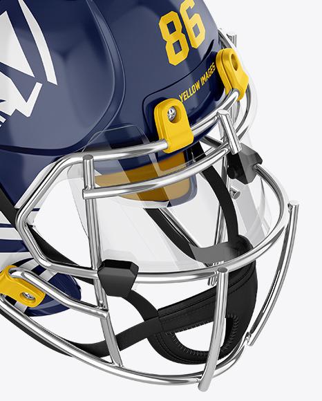 Download American Football Helmet Mockup Yellowimages