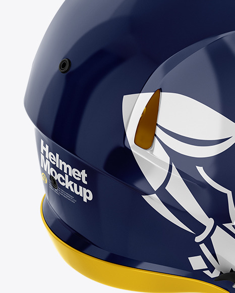 Download American Football Helmet Mockup Free Yellow Images