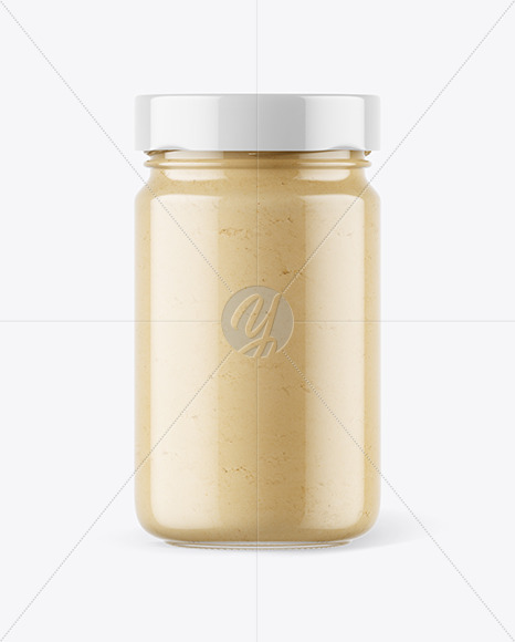 Download Clear Glass Jar With Duo Chocolate Spread Jar Psd Mockup Yellowimages