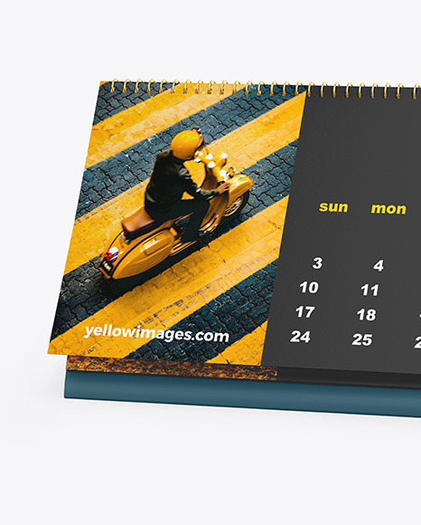 Download Free Mockup Kalender Yellowimages