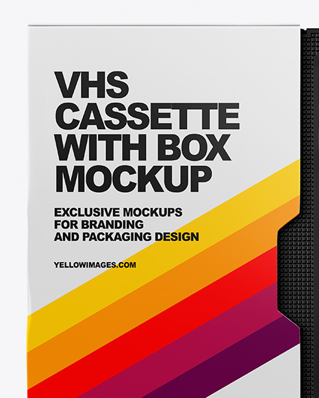 Download Free Vhs Mockup Psd Yellowimages