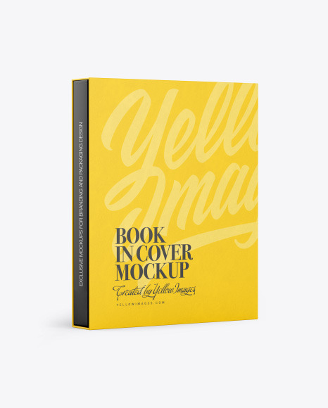 Download Book Cover Mockups Yellow Images