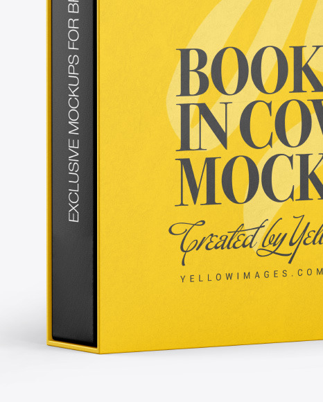 Download Mockup Book Illustrator Yellow Images
